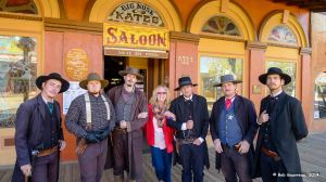 Dee Dee and her boys, Tombstone, Arizona