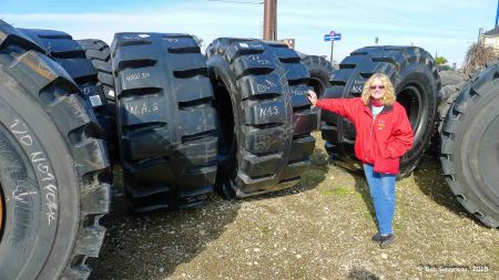 "Thinking about getting some new ""aggressive"" tires for the truck, Commercial Tire Store, Scott, LA"