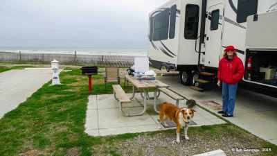 Dee Dee and the Boyz, Dellenera RV Park, Galveston Island, Texas