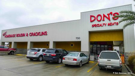 Don's Boudin and Cracklins Cajun Resturant, Scott, LA.  Damn good food!