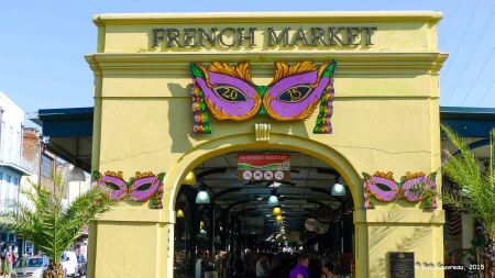 Entrance to the French Market