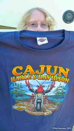 T-shirt from Cajun Harley Davidson, Scott, LA