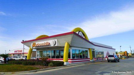 Vintage McDonalds, New Orleans, LA
