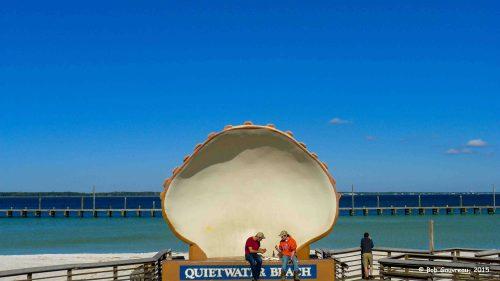 Giant shell, Pensacola, FL.
