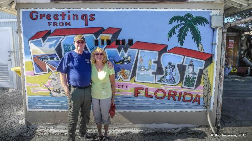 Key West, the turning point of our trip.  Wahoo!