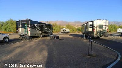 Two RVs Furnace Creek