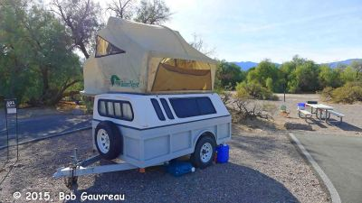 Weird Camper at Furnace Creek