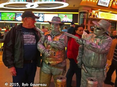 The Bob with Fremont Street characters, Las Vegas