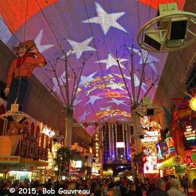 Fremont Street Experience, Las Vegas, Nevada