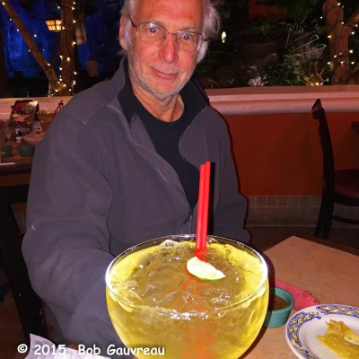 Gary and his Giant Margarita, Mexican restaurant in Sam's Town Casino, Las Vegas