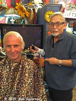 Gary and Manuel The Barber