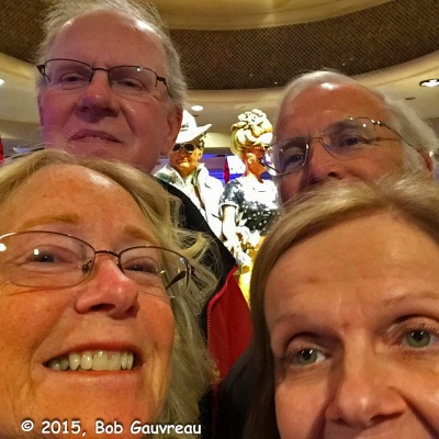 Dee Dee, The Bob, 'Photo Bomber's', Gary and Debbie, Harrah's, Las Vegas
