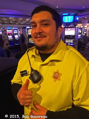 Security guard, Harrahs Casino, Las Vegas