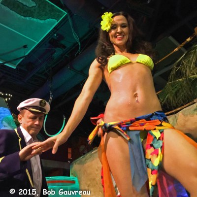 Adrian, dancer at Jimmy Buffet's Margaritaville, Las Vegas