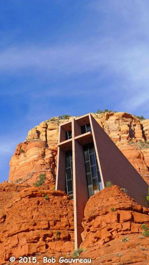Outside Sedona Church