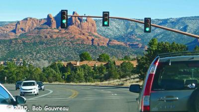 Sedona Traffic Light