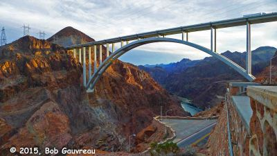 Tillman Bridge, near Boulder/Hoover Dam