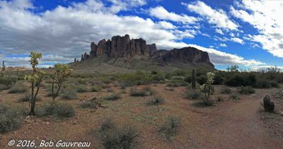 Pano View of Superstition Mtn