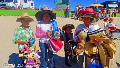 Beach Hat People