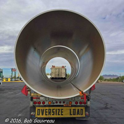 Big Ass Pipe in Gila Bend